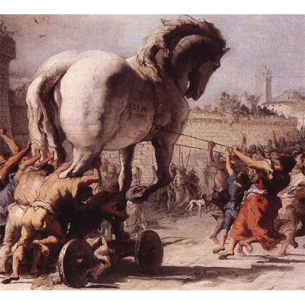 Trojan infections are named after an event in Greek mythology