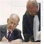 Sidi Ould Cheikh Abdallahi formally resigning - VOA, Ould Seyid