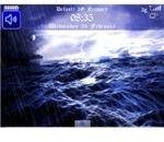 Free Sea Storm Animated Theme - BBM-pic