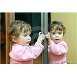 Baby with Mirror