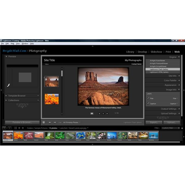 Adobe Lightroom - Web Module