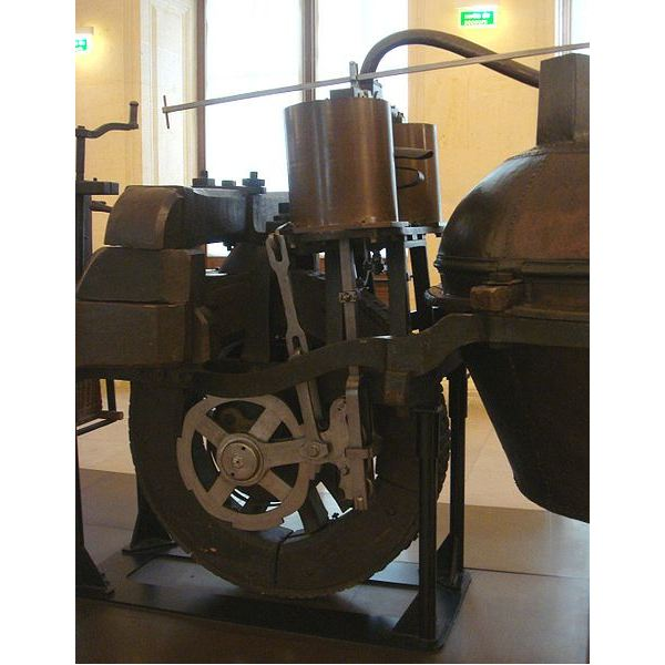 Engine of the Cugnot Machine