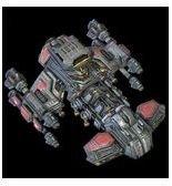 Starcraft 2 Terran Battlecruiser