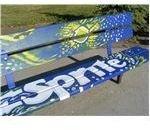 Pop Art Bench Example 1