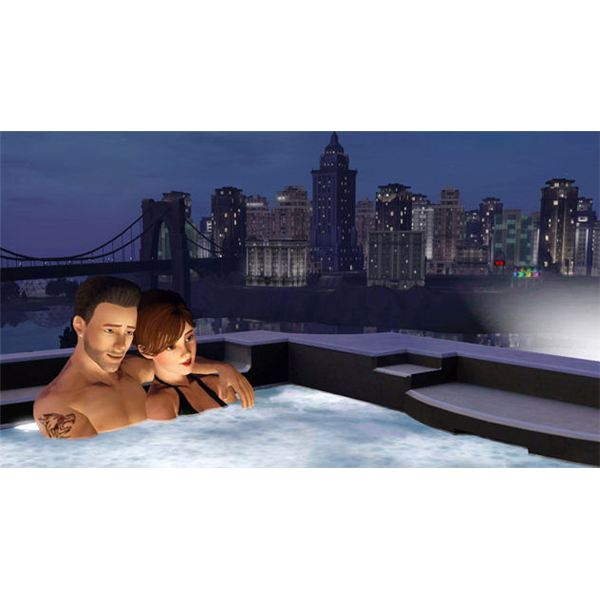The Sims 3 Hot Tub