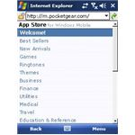 Appstore for Windows Mobile is the Windows Mobile marketplace from PocketGear