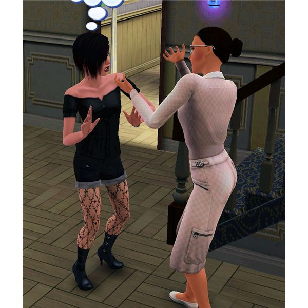 The Sims 3 punishment
