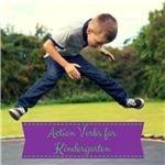 Action Verbs for Kindergarten