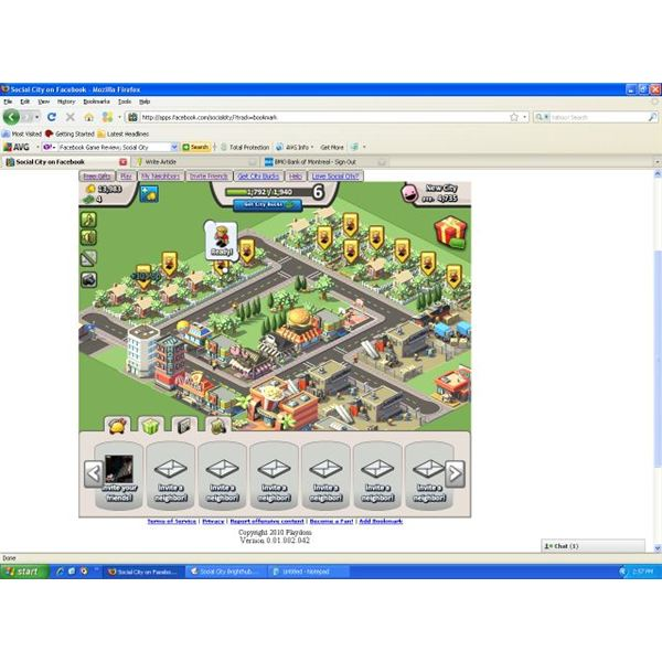 Facebook Game Review: Social City - Play a city building game on Facebook