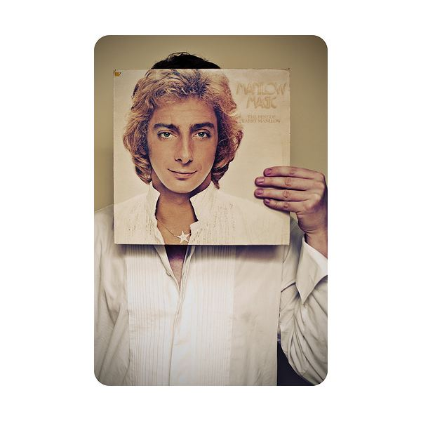 barry manilow sleeveface