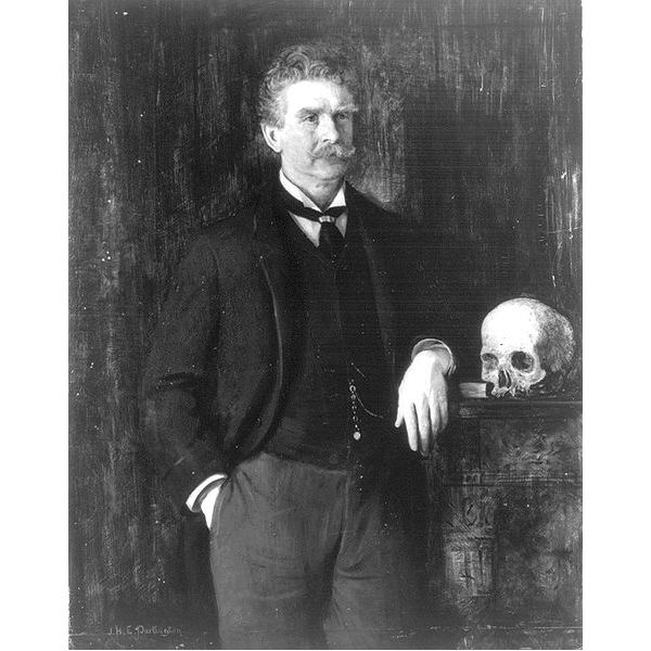 Ambrose Bierce Next to Peyton Farquhar's Skull Recovered Down Stream (OK, I made that up)