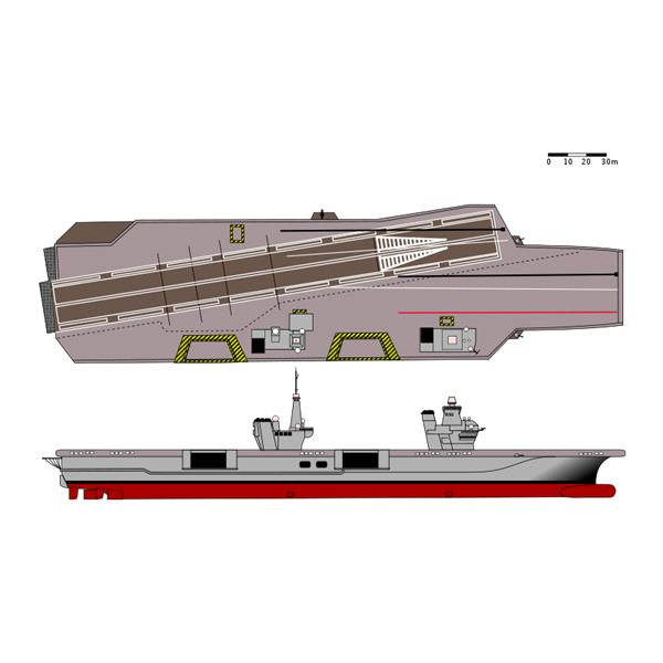 British-French Aircraft Carrier Design by Rama