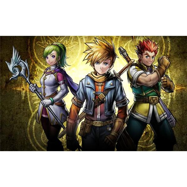 Golden Sun: Dark Dawn Character Art