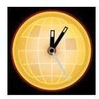 World News Analog Clock by Widgipedia
