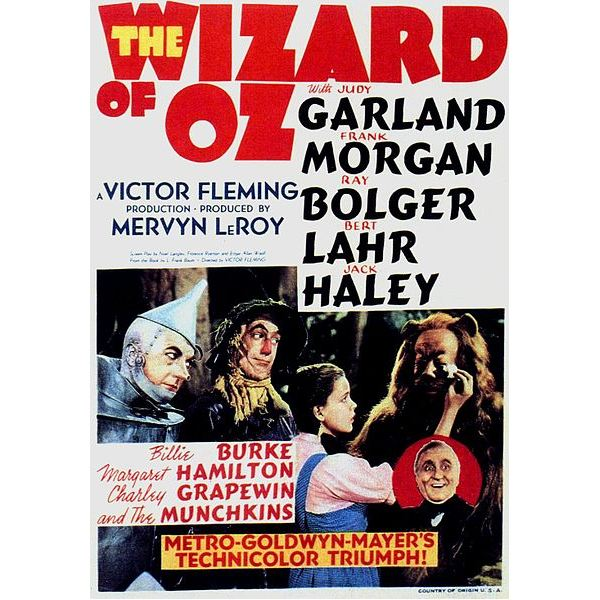 419px-WIZARD OF OZ ORIGINAL POSTER 1939