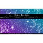 Glitter Sparkles Brushes by redheadstock