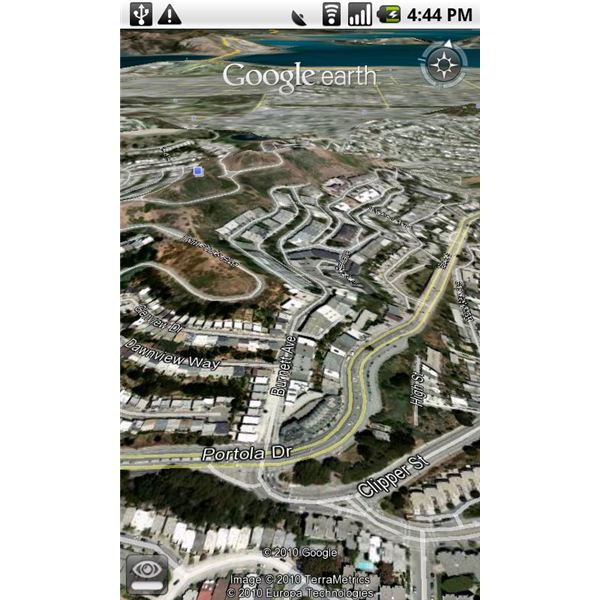 Top Android Applications - Google Earth