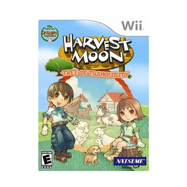 Harvest Moon Tree of Tranquility cover