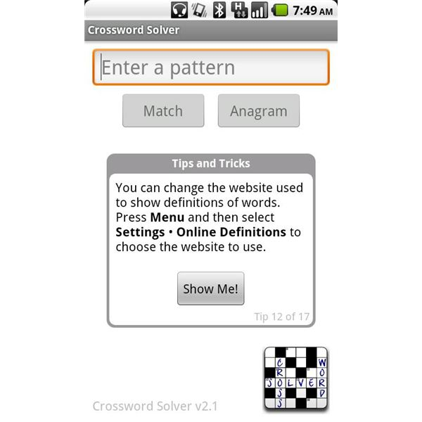 Three Must Have Android Crossword Solver Applications