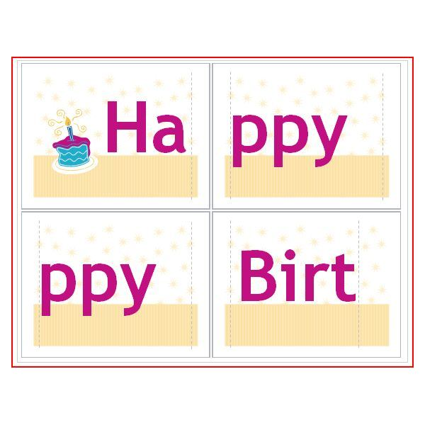 How To Make A Birthday Banner With Common DTP Software