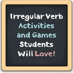 Make learning irregular verbs fun with these great games and activities!