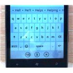 Using a QWERTY keyboard requires some familiar gestures and actions.