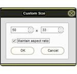 Custom Size as Needed