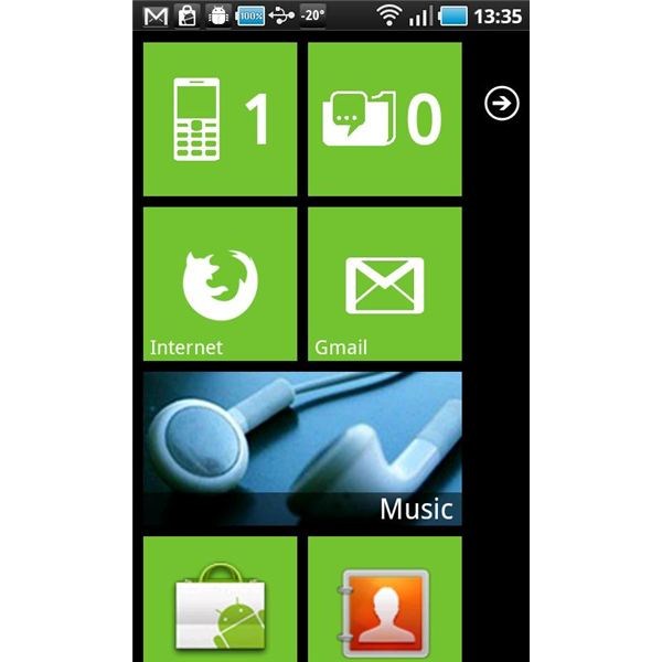 Windows Phone 7 Themes: Android Customization