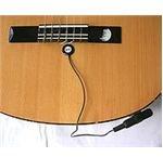 Piezo sensor used as guitar pickup