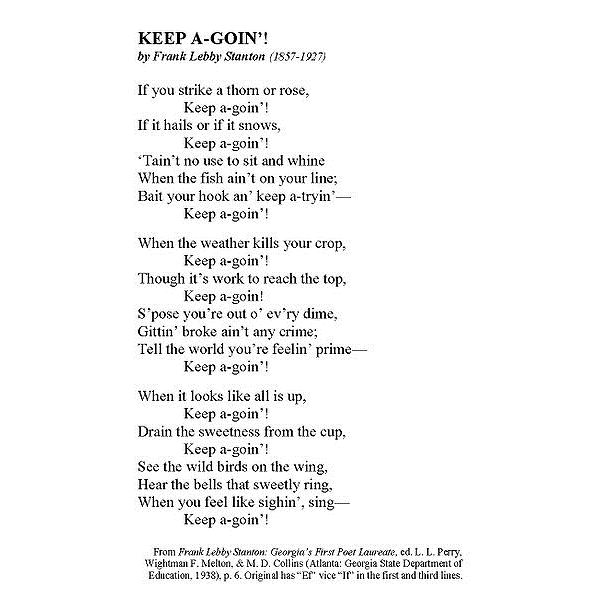 380px-KEEP A-GOIN' by Frank Lebby Stanton 1c