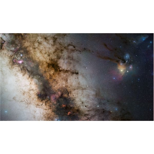 Image #2: The Center of the Milky Way