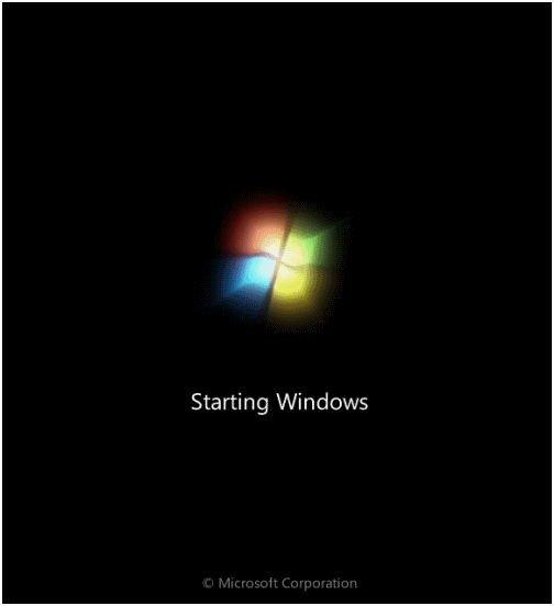 Windows-7 Startup