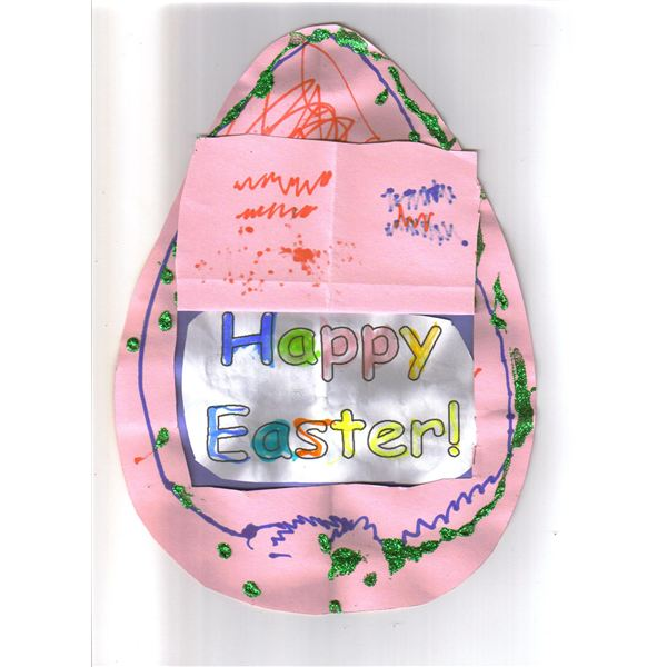 Easter Flap Card