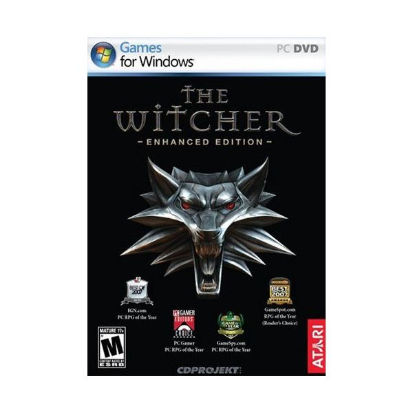 The Witcher Enhanced Edition cover