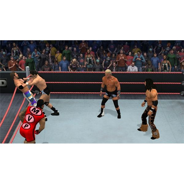 SmackDown vs. Raw is inviting and easy to get into.