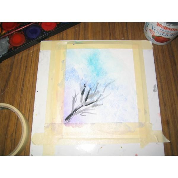 Paint the Tree in Lower Left Corner