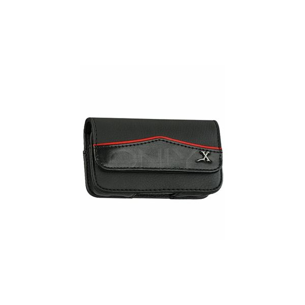 Red AWL Border Horizontal Pouch For Rumor