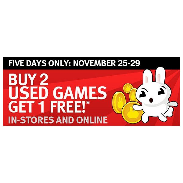 Gamestop Used Game Deal