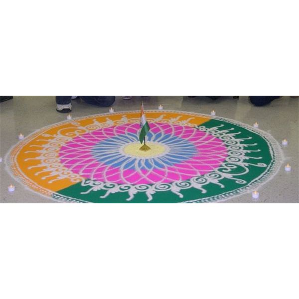 Indian Sand Painting