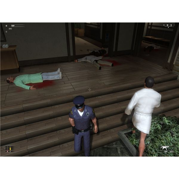 Hitman Blood Money Walkthrough: Flatline - What Happens If Your Uniform Grab Goes Wrong
