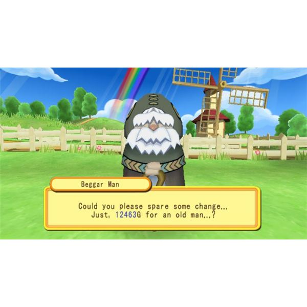 Dokapon Kingdom graphics