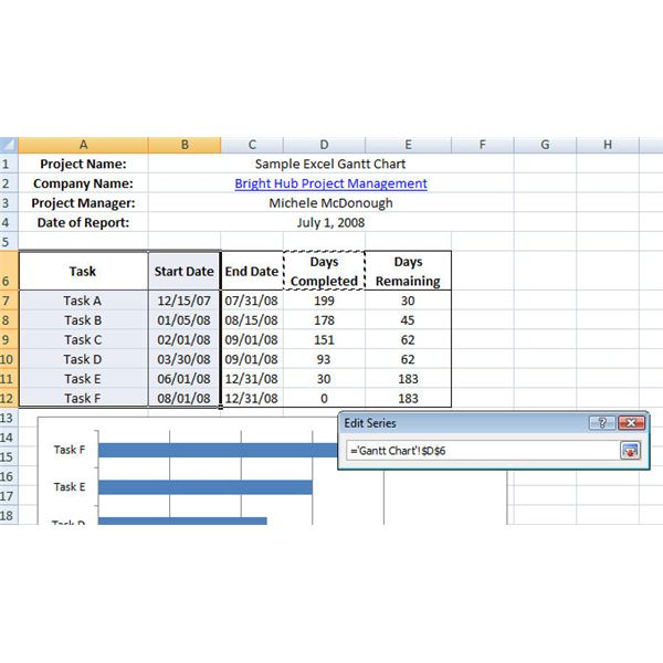 learn how to make a gantt chart in excel sample template included