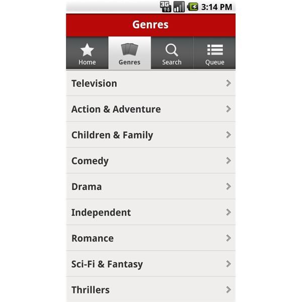 Netflix Android Review