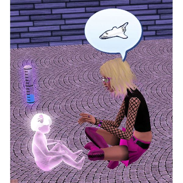 The Sims 3 Ghost Toddler