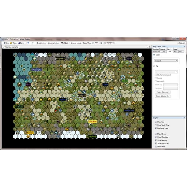 Creating a Map with the WorldBuilder