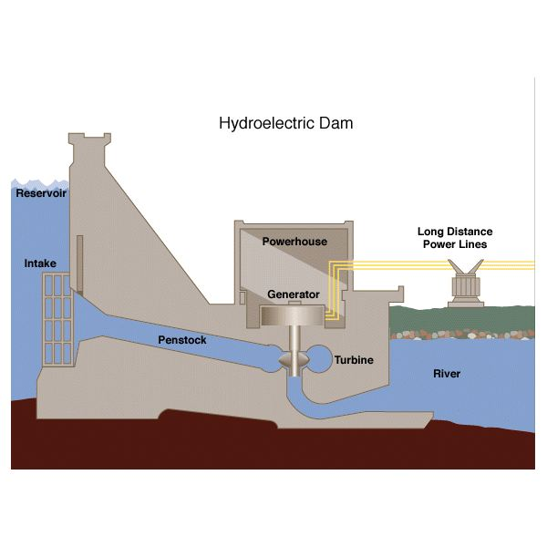 What are the Negative Effects of Building Large Hydroelectric Dams?