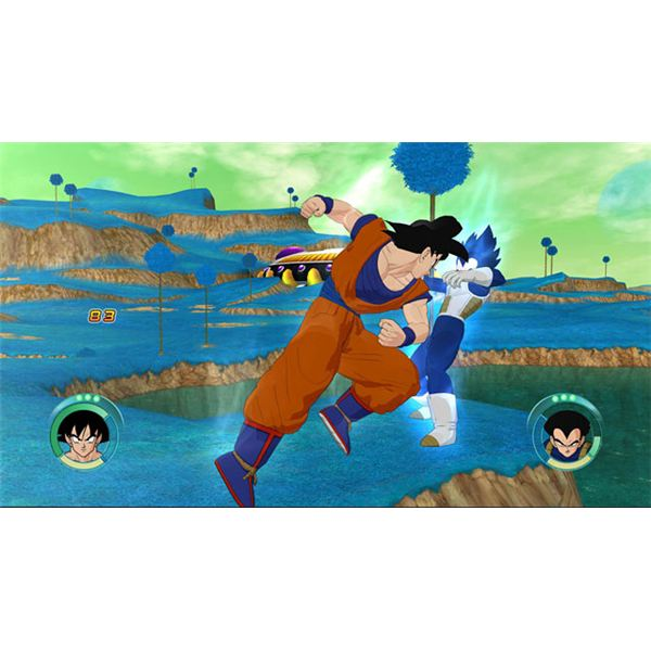 Dragon Ball Z Raging Blast Cheats: Screenshot 2