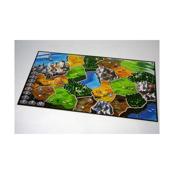 Two player board for Small World