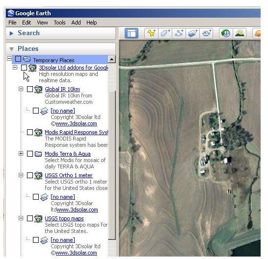 Google Earth Topographic Maps