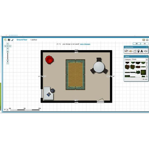5 free floor plan software options for businesses for Floor plan design software freeware
